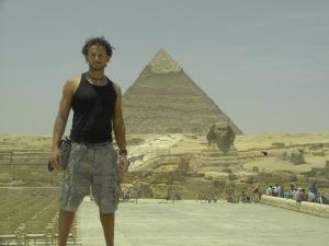 Kheops y Esfinge. EGIPTO 2010