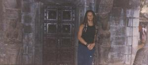 Templo en Kerala. INDIA 2001